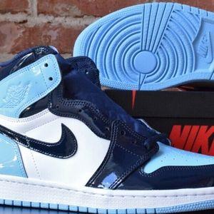 Nike Air Jordan 1 High OG Blue Chill UNC Patent